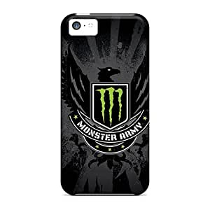 Best Cell-phone Hard Cover For Iphone 5c (JCJ5543reUd) Support Personal Customs Vivid Monster Army Image