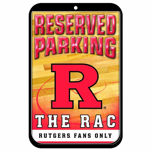 Room Sign Knight - NCAA Rutgers Scarlet Knights 11-by-17 inch Locker Room Sign