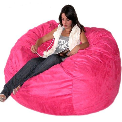 Cozy Sack 5 Feet Bean Bag Chair Large Chocolate Buy