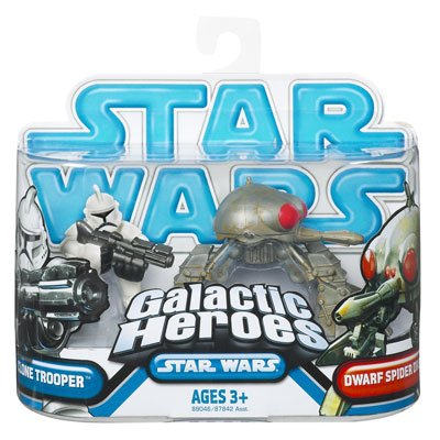 Clone Trooper & Dwarf Spider Droid (Galactic Heroes)