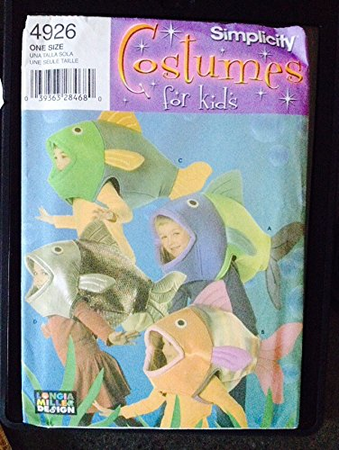 Simplicity Costumes for Kids Fish -