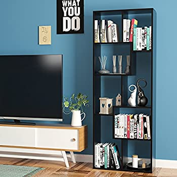 Amazon Com Homfa Bookcase 8 Cube Bookshelf Free Standing Bookshelf Display Storage Collection