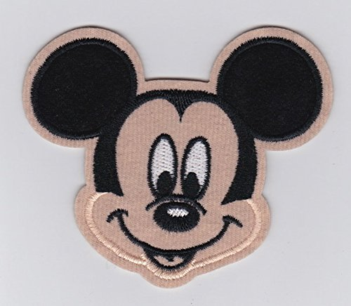 Iron Mickey Mouse - Mickey Mouse Smiley Face Head 3.5