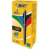 BIC 4 COLOURS PRO ASSORTED 902129 PK12