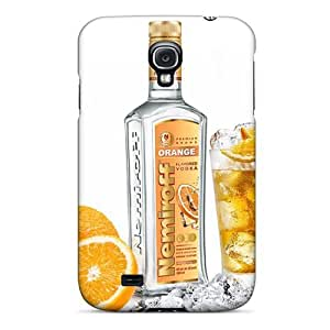 Hot Style KFrnQBS1492uUDTP Protective Case Cover For Galaxys4(orange Nemiroff Vodka)