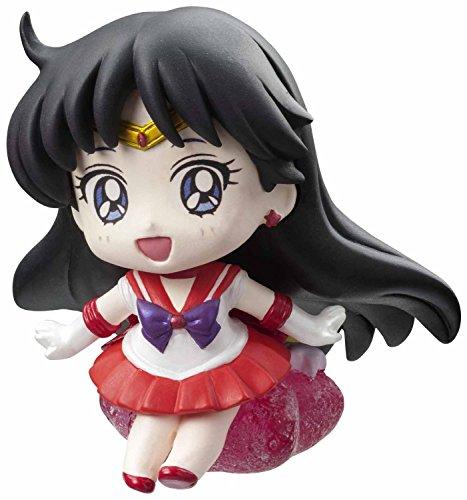Sailor Moon Figure~Petite Character land~Candy Makeup~Pvc Mascot~Sailor Mars