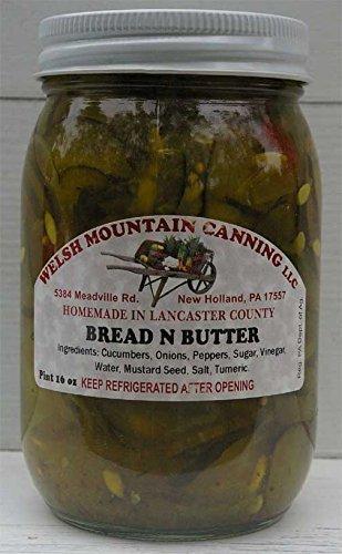 (Amish Bread n Butter Pickles, 16 Oz. Jar (Pack of 2) )