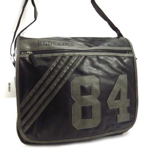 Redskins [K6280] - Sac bandoulière 'Redskins' noir gris