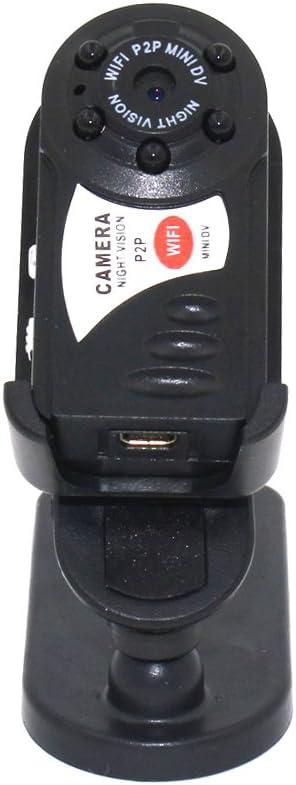 OWSOO Q7 Mini C/ámara WiFi Inal/ámbrico Network Vision Nocturna Multifuncional Vigilancia Micro CAM Network