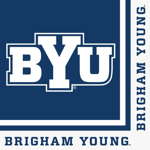 Creative Converting 20 Count Byu Cougars Lunch Napkins