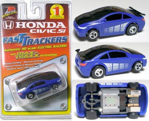 Honda Civic Si Tuner Slot Car (Life Like Ho Racing)