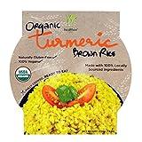 Healthee Ready-to-Eat Organic Turmeric Brown Rice, 216 Grams