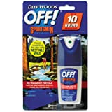 OFF! Deep Woods Sportsmen Insect Repellent, 1 Ounce Spray Bottle - 12 spray bottles of 1 Ounce each.