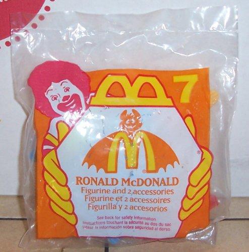 1995 Mcdonalds Halloween Ronald Mcdonald Happy Meal Toy #7 MIP -