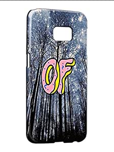 Fashion Samsung Galaxy S6 Edge Plus Case Funda Para Teens Odd Future Band Style Popular Pattern Light Weight Phone Cover Hard Skin