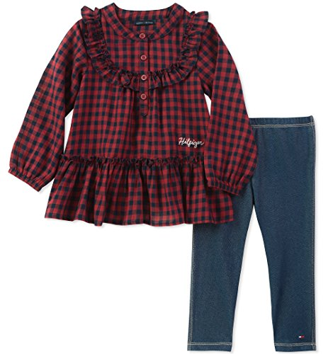 Tommy Hilfiger Baby Girls 2 Pieces Tunic Pants