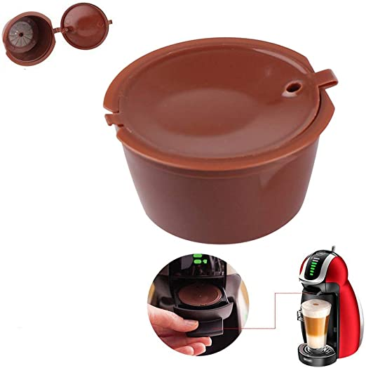 SmartHitech Cápsulas de Café Reutilizables para Nescafé Dolce Gusto, Cápsula de Café Recargable - Filtro de Café Universal (café): Amazon.es: Hogar
