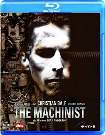 The Machinist Blu Ray Amazonde Jennifer Jason Leigh Christian