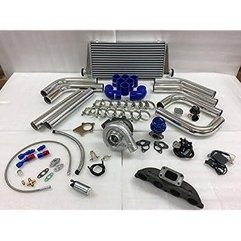 02-06 Acura RSX K Series K20 K24 Si T3T4 .63 Turbo Kit Intercooler BOV Manifold