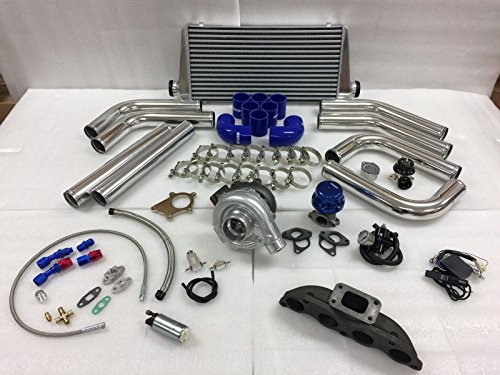 02-06 Acura RSX K Series K20 K24 Si T3T4 .63 Turbo Kit Intercooler BOV Manifold