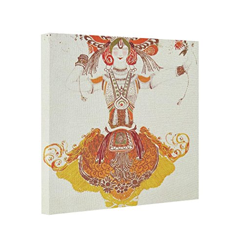 NANA EC Canvas Picture Frames Ballet Costume for 'The Firebird' by Stravinsky Canvas Wrapped Prints