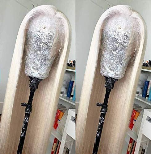 Hair Platinum Synthetic Straight Resistant