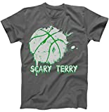 Best TeeShirtPalace Brother Tshirts - TeeShirtPalace Scary Terry Boston Bloody Basketball T-Shirt Charcoal Review