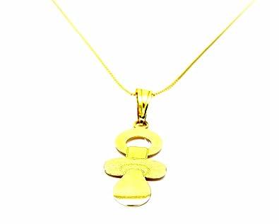 Pegaso Joyería - Collar oro amarillo 18 kt Veneta con chupete ...
