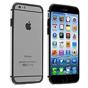 iPhone 6 Case, INSTEN [Shock-Absorption] PC Slim Thin Hybrid Bumper Case Cover Compatible with Apple iPhone 6 (4.7), White BPHYB