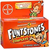 Flintstones Complete Children's Multivitamin, Tasti Smooth Chewable Tablets – 60 ct, Pack of 4 For Sale