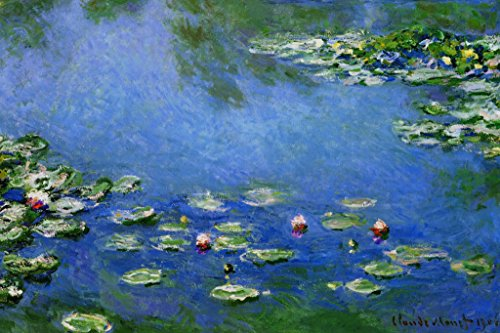 Claude Monet Water Lilies Nympheas 1906 Oil On Canvas French Impressionist Painting (Nympheas Water Lilies)