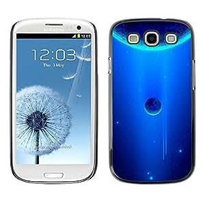 Stuss Case / Funda Carcasa protectora - Royal Blue Space - Samsung Galaxy S3