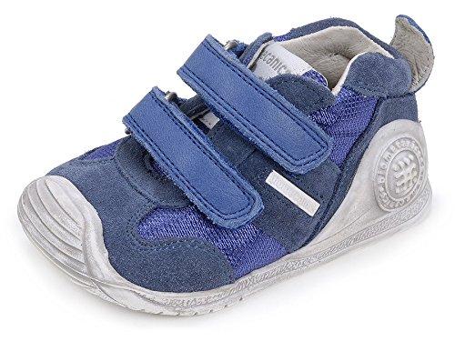 Biomecanics 162149 Baby Jungen Lauflernschuhe Blau (Blau)