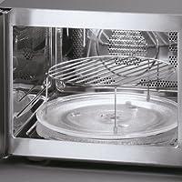 Severin MW 7825 Microondas con Grill y convección Incluye 2 resistencias, 900 W, 30 litros, Plata y Negro