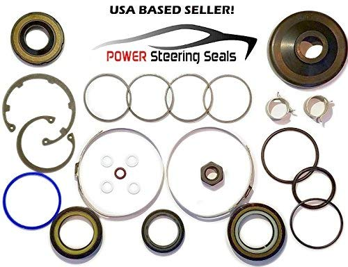 Power Steering Seals Power Steering Rack and Pinion Seal Kit for Dodge Dakota