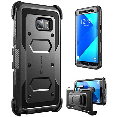 Galaxy Note 7 Case, [Armorbox] [Heavy Duty Protection ] Shock Reduction / Bumper Case WITHOUT Screen Protector for Samsung Galaxy Note 7 2016 Release (Black)