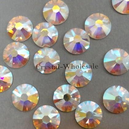 Image of 1440 Swarovski 2058 20ss 4.8mm flatback rhinestones ss20 CRYSTAL AB F Beads & Bead Assortments