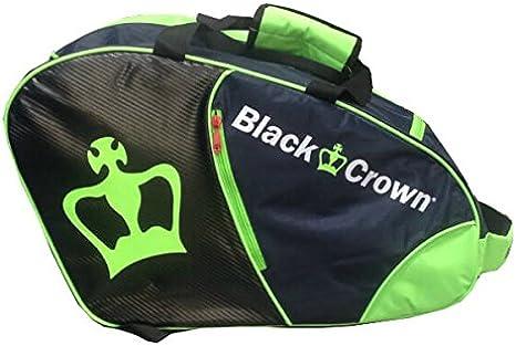 Paletero Padel Black Crown Verde/Negro: Amazon.es: Deportes y aire ...