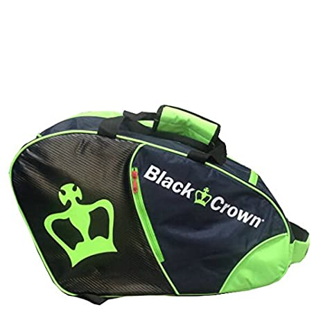 Paletero Padel Black Crown Verde/Negro: Amazon.es: Deportes ...