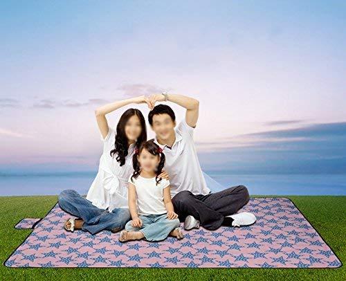 C 200 × 145cm XQY Tapis de pique-nique en tissu pour pique-nique en tissu pour l'extérieur, en tente, étanche à l'humidité,A,200 × 192cm