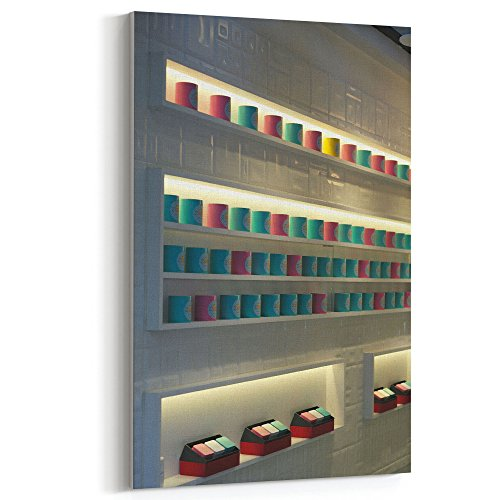 Westlake Art - Design Shelf - 12x18 Canvas Print Wall Art - Canvas Stretched Gallery Wrap Modern Picture Photography Artwork - Ready to Hang 12x18 Inch (06E9-DC901)