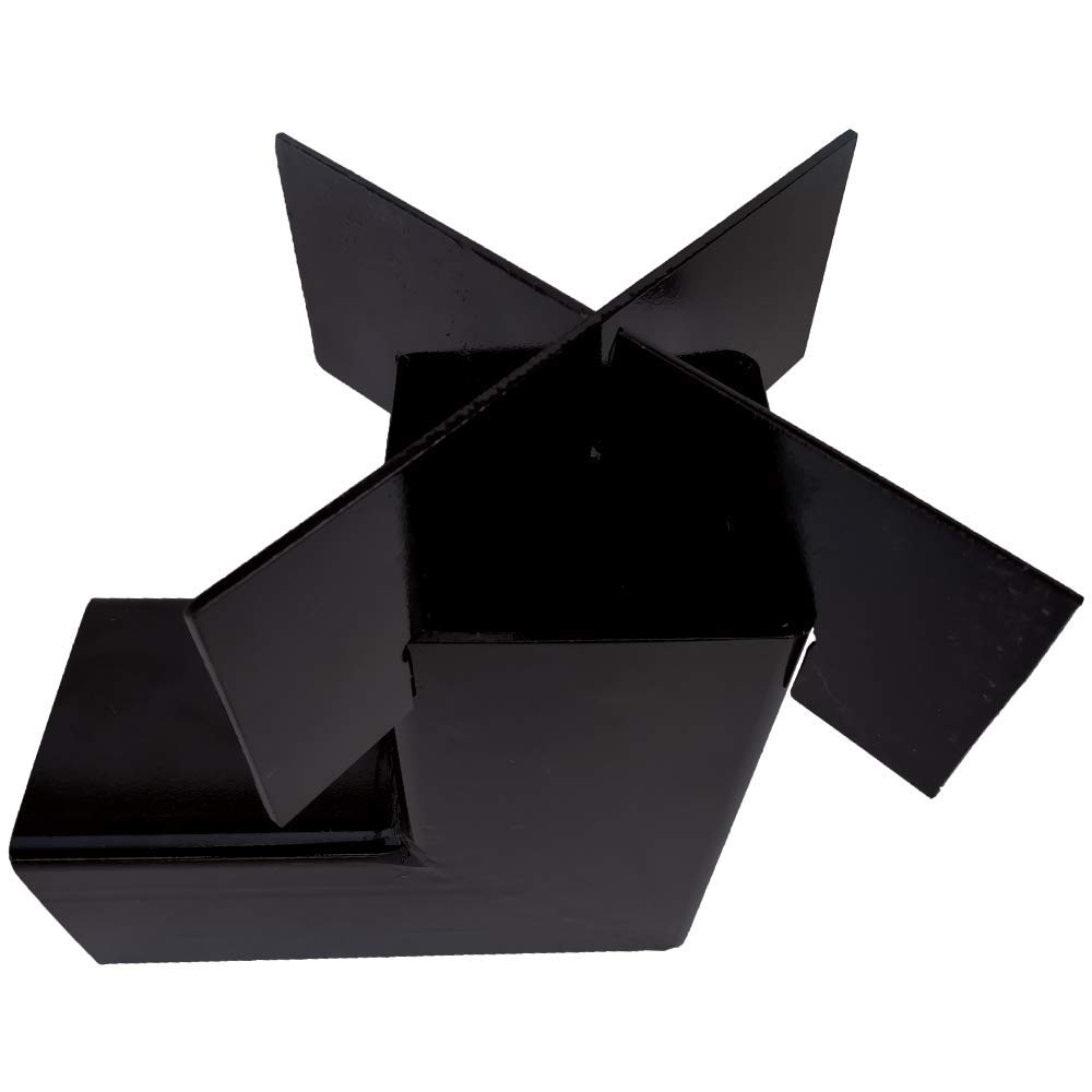 Powder Coated Handmade Basic Rocket Stove 8.5'' x 8.5'' x 4'' with Removable Top by Simond Store