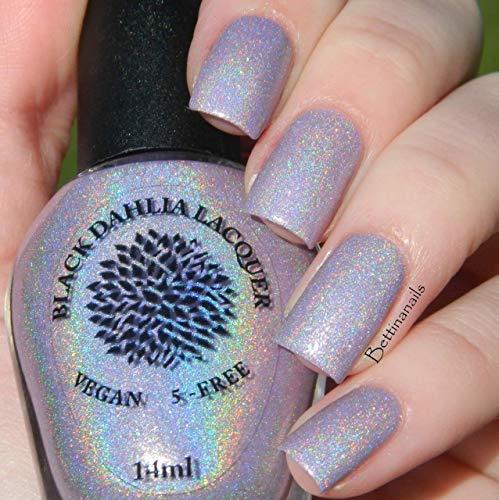 Amazon.com: Mountain Laurel | Light Pink Shimmer Holo Nail Polish ...