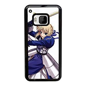 Anime Series Cartoon Design Fate/Stay Night Fate/Zero Saber Protective Case for HTC One M9 Case JS005