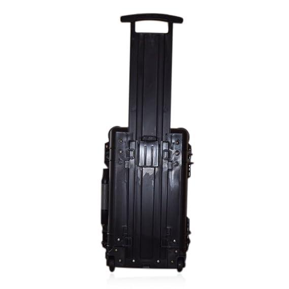 US PRO impermeable con ruedas Rolling Caja de herramientas de equipos de viaje funda rígida con inserto de espuma 22
