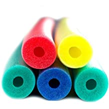 Fix Find 5 pack of 52 inch flexible colorful foam Swim/Float/Pool Noodles