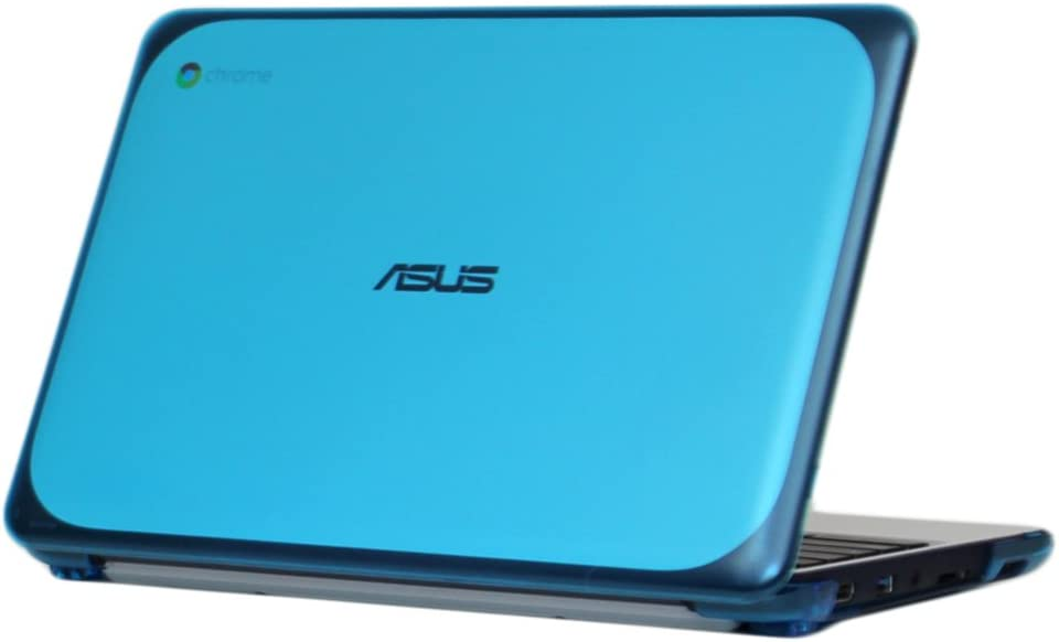 "iPearl mCover Hard Shell Case for 11.6"" ASUS Chromebook C202SA Series Laptop - Aqua"