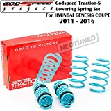 genesis coupe coil overs - Godspeed (LS-TS-HI-0002) Traction-S Lowering Spring Set For Hyundai Genesis Coupe 2011-2016 gsp set kit