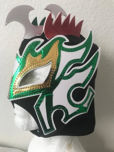 Kalisto lucha dragons kids mask tricolor sin cara mil LUCHA for $<!--$12.99-->