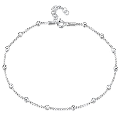 silver ankle simulated inches anklet in bracelets crafted dolphin products beautiful sterling bracelet with this pin stones